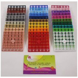 Lot 30 carrés couleurs