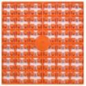 Carré couleur Orange