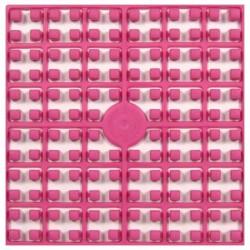 Carré couleur Rose vif
