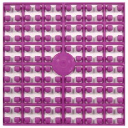 Carré couleur Violet 208