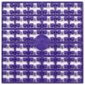 Carré couleur Violet Foncé 148