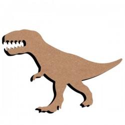 Support bois à décorer MDF - T-Rex 15 cm/26 cm
