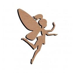 Support bois à décorer MDF - Fairy 25cm ou 58cm