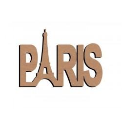 Support bois à décorer MDF - Paris 58 cm