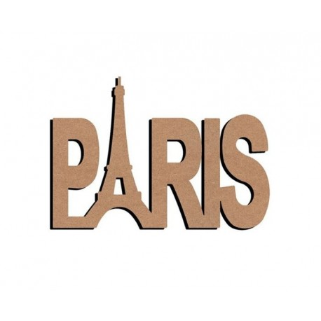 Support bois MDF 58 cm Paris