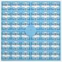 Carré couleur Bleu clair 288