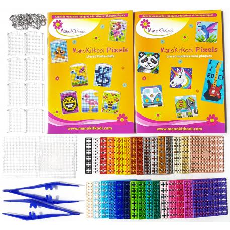 Mosaiques Pixels - NEW BEST KIT Portes-clefs/Mini-plaques