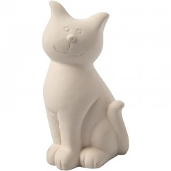 Tirelire Chat à décorer
