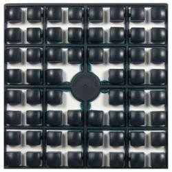 Carré couleur Noir XL