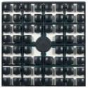 Carré couleur Noir 441 XL