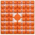 Carré couleur Orange 389 XL