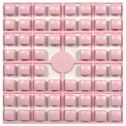 Carré couleur Rose Clair XL