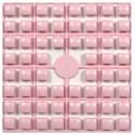 Carré couleur Rose clair 447 XL