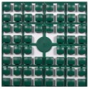 Carré couleur Vert fonçé 505 XL