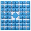 Carré couleur Bleu Turquoise 198 XL