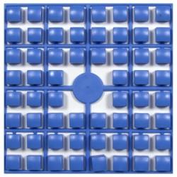 Carré couleur Bleu Mer XL