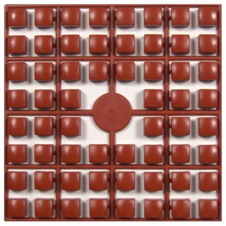 Carré couleur Marron Roux XL