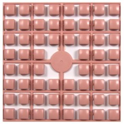 Carré couleur Rose Poudré 274 XL