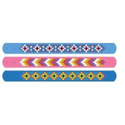 Kit 3 Bracelets Daisies