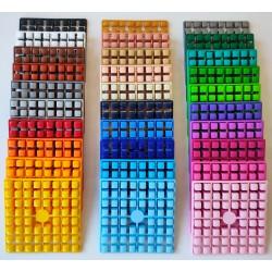 Lot 30 carrés couleurs XL