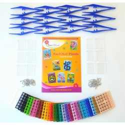 BEST KIT SPECIAL Birthday Party Pixels/Portes-clefs