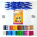 Mosaiques Pixels - Kit pour Groupe Portes-clefs