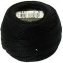 Pelote Noir Coton Perlé DMC n°5