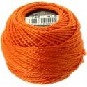 Pelote Orange Coton Perlé DMC n°5