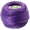 Pelote Violet Coton Perlé DMC n°5